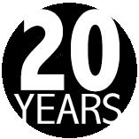 Pendant la rédaction de ce témoignage, le COIN célébrait son 20e anniversaire au sein de la communauté de Peterborough. Le logo du 20e anniversaire :  « 20 YEARS » écrit en blanc sur un cercle noir.