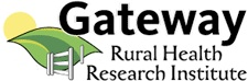 Gateway logo (organization name with the image of sun, a leaf and fence)