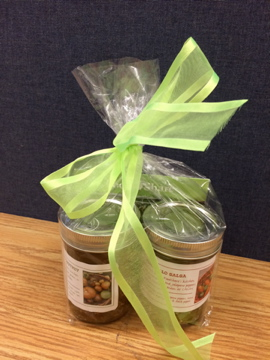 Gifts of Hope - chutney, salsa, and herb vinegars from the Sunshine Market Garden