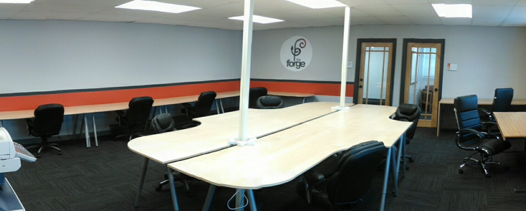 The Forge offers flexible office space and services in an environment that fosters networking, innovation, creativity and sustainable business practices.