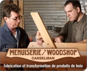 Menuiserie Casselman Woodshop logo