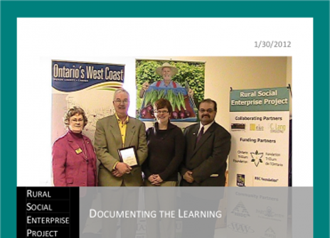 Rural Social Enterprise Project: Documenting the Learning