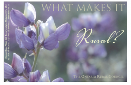 What Makes it Rural?